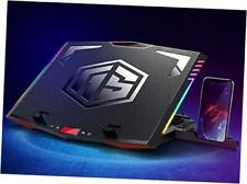RGB Laptop Cooling Pad for 15.6-21 Inch Professional Gaming Laptop Cooler