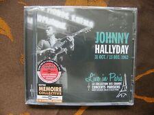 CD JOHNNY HALLYDAY - Live In Paris / Frémeaux & Associés FA 5489  (2015)   NEUF