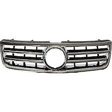 fits 2004-2007 VOLKSWAGEN TOUAREG Front Bumper Radiator Grille NEW