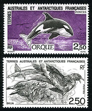 FSAT TAAF 186-187, MNH. Killer whale; Skua, seabirds, 1993