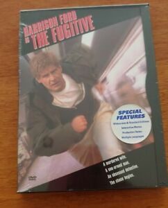 (Region 1 DVD) Harrison Ford is The Fugitive. Brand new and sealed.
