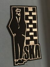 """SKA Embroidered Iron/Sew ON Patch 3.5""""x2"""" Rock Punk Music Rude Boy"""