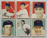 1949 Bowman - Complete CINCINNATI REDS Team Set - 1 Cards - Vander Meer + Team