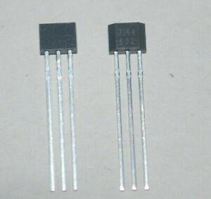 1/2/5pcs  A3144 3144 Hall Effect Sensor, Supply 4.5V - 24V TO-92 for Arduino
