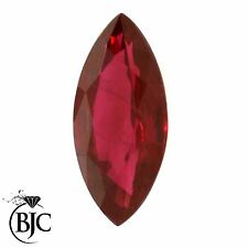 BJC® Loose Natural Ruby Rubies Marquise Cut Multiple Sizes Natural & Untreated