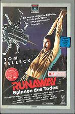 (VHS) Runaway - Spinnen des Todes - Tom Selleck, Cynthia Rhodes, Gene Simmons
