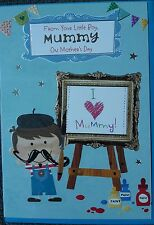 FROM YOUR LITTLE BOY ON MOTHER'S DAY  - MOTHERS DAY CARD