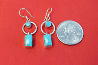 D2 HAND CRAFTED STERLING SILVER .925 TIBETAN EARRING MADE IN NEPAL