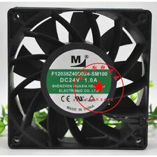 1pcs F12038Z40D024-SM100 24V 1.0A 24W 2-wire cooling fan 120 * 120 * 38mm