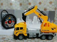 Excavadora RC Control Remoto máquina de ingeniería de construcción camión de alimentación Digger