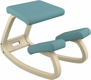 Varier Variable Balans Original Kneeling Chair Designed - Peter Opsvik Turquoise