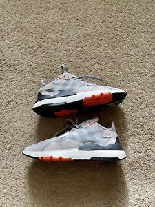 Size 11.5 - adidas Nite Jogger Grey Orange