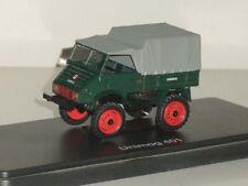 1:43 Schuco 03111 Mercedes-Benz Unimog 401 1951 - Green