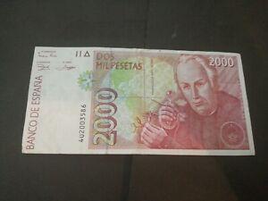 Spain 2000 Pesetas 1992