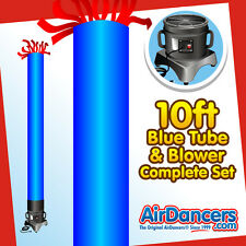 Blue Tube AirDancer® & Blower Set 10ft Dancing Inflatable Air Dancer Set