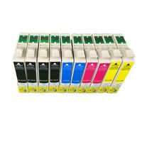 10x Druckerpatronen für Epson Stylus SX100 SX200 SX200W SX205 SX210 SX215 SX218