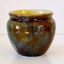 Worcester No.9 Polychrome Glaze Vase, possibly c.1930s