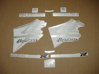 Hayabusa 1300 brushed aluminium grey silver decals stickers graphics set kit k1