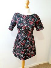 Boden Floral Print Fit Flare Dress Size UK 8 Petite