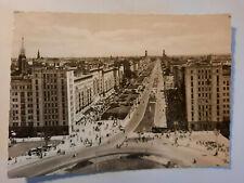 alte Foto  Ansichtskarte  Berlin Stalinallee 1960 Architektur DDR