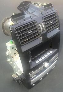 Ford Falcon Fairmont BA BF XT XR6 radio 6x CD stacker ICC dual zone PIANO BLACK