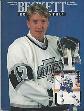October 1991 Beckett Hockey Price Guide NHL - #12 Jari Kurri & Peter Stastny