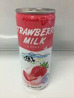 Pokka Strawberry Milk Drink 240ml 8.1 fl oz Quantity of 10, 20, or 32