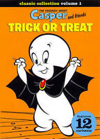 NEW Casper and Friends: Trick or Treat (DVD, 2014) 12 Cartoons 75th Anniversary