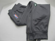 adidas Celtics Authentic On Court Team Issue NBA Player's Warm Ups Gray NWT