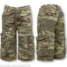 Pantalones cortos de niño de 2 a 16 años de color principal verde
