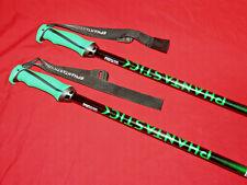 VOLKL Phantastick Ski Poles 125cm Brand NEW! Powder Baskets GREEN ❆ Think Snow!