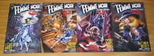 Femme Noir: the Dark City Diaries #1-4 VF/NM complete series - A variants - pulp