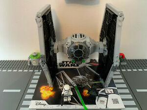 Lego Star Wars 75300 Imperial TIE Fighter 100% Complete with Instructions & Figs
