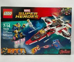 Lego 76049 Marvel Avengers Avenjet Space Mission New & Sealed 523 pcs