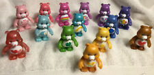 """Huge Lot of 14 adorable Care Bears poseable arms 3"""" plastic figures"""