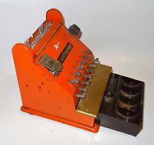 Jouet ancien en tôle - Caisse enregistreuse 1960 marchande dînette poupée