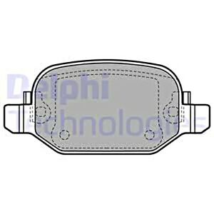 DELPHI Disc Brake Pad Set For FIAT 500L 12- 77366456