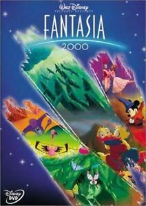 Fantasia 2000 DVD THX Dolby Digital 5.1 -  Disney Movie Mickey Mouse