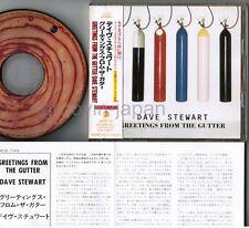 DAVE STEWART Greetings From The Gutter EURYTHMICS JAPAN CD AMCE-743 w/OBI FreeSH