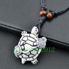 Yak bone Sea turtle Mother and Child pendant necklace RH307