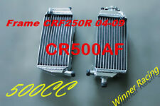 "ALUMINUM RADIATOR HONDA CR500AF;FRAME CRF250R 2004-2009 WITH ""CR500R ENGINE"""