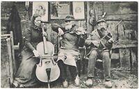 Ansichtskarte Gruss aus Weesby/Kreis Tondern - Musiker in Trachten - 1912 - s/w