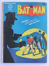 Batman # 16 US DC COMICS ORIGINAL 1943 Intro/Origian Alfred G-VG