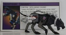 "RAVAGE Transformers vs GI JOE SDCC EPIC CONCLUSION Box Set 3.75"" Inch 2013 LOOSE"