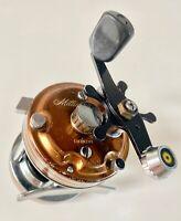 Daiwa Millionaire 5H Baitcasting Level Wind Fishing Reel. Clean/Good Condition.