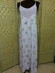 LADIES TREE OF LIFE 'SPANISH SLIP' DRESS SIZE M FIT APPROX SIZE 10