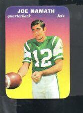1970 Topps Glossy Football Card #29 Joe Namath-New York Jets