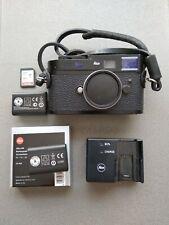 Leica M8.2 black (Rare) plus accessories