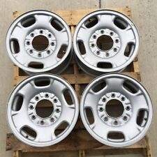 "8 LUG 17"" CHEVY-GMC TRUCK STEEL WHEEL RIMS NO CENTERS"