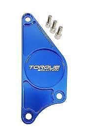 Torque Solution Billet Aluminum Cam Plate (Blue): Fits Toyota GT86, Subaru BRZ